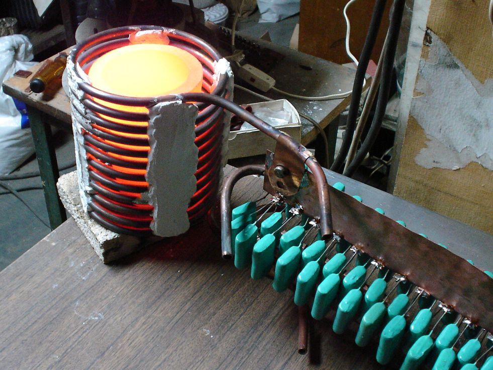 Индукционный нагреватель металла своими руками фото 974
