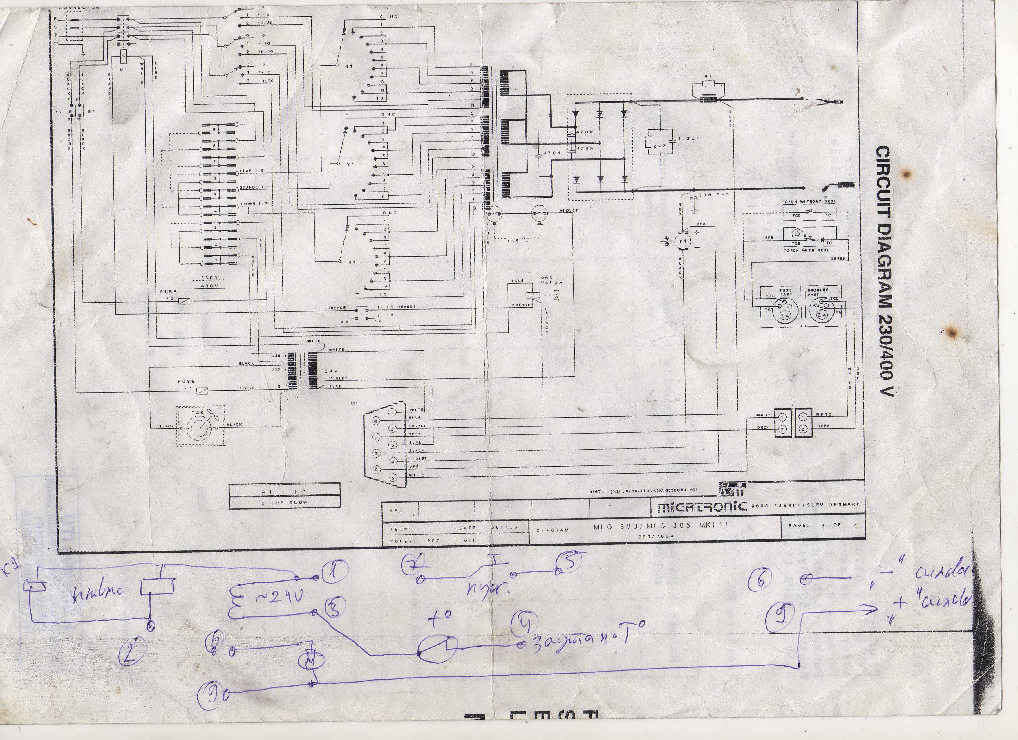 Аппарат сварочный терминатор схема фото 336