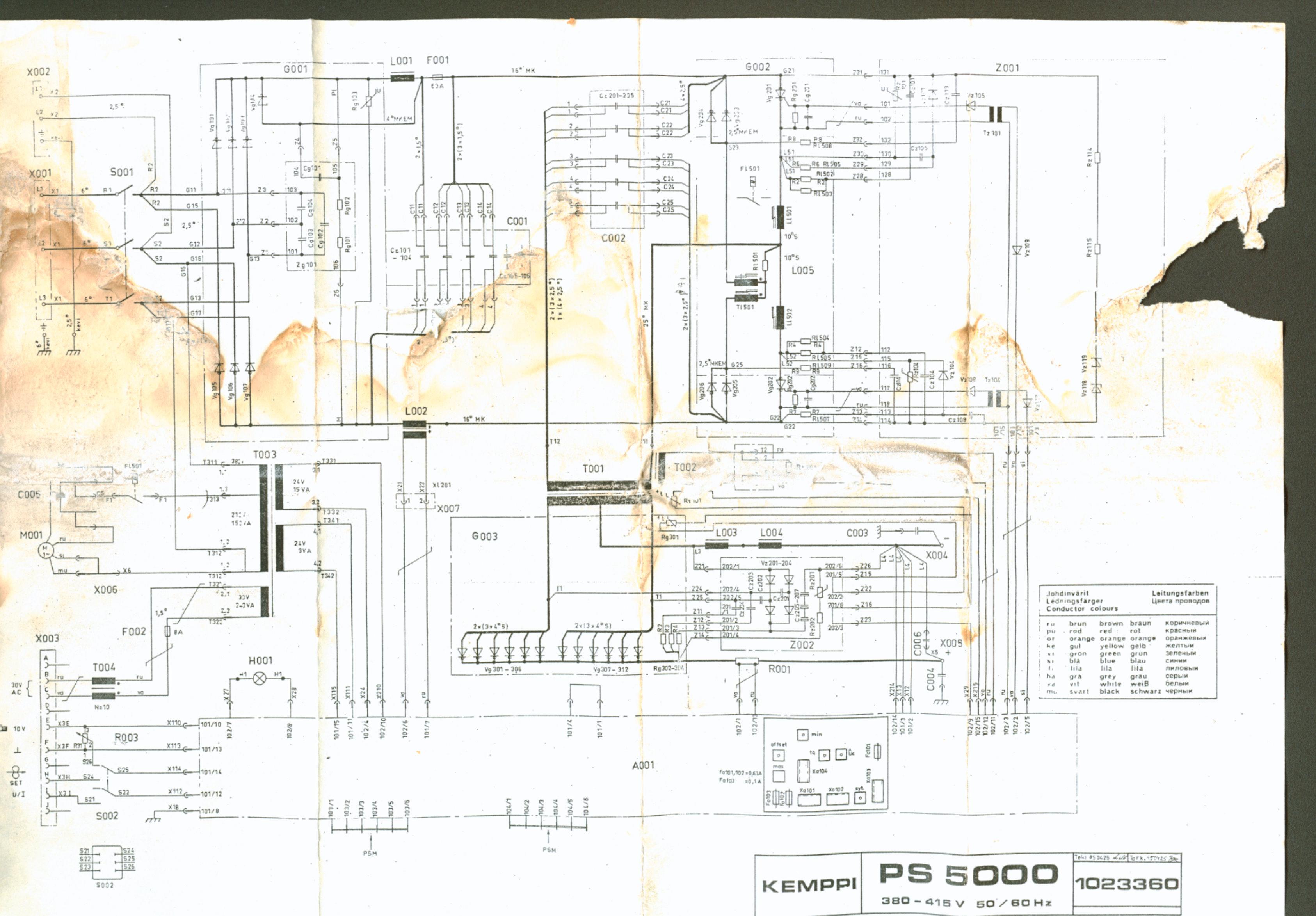 Схема сварочного аппарата kemppi